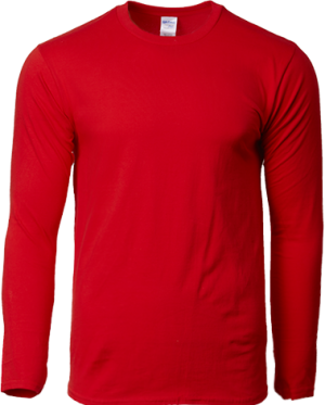 GILDAN COTTON LONG SLEEVE TEE